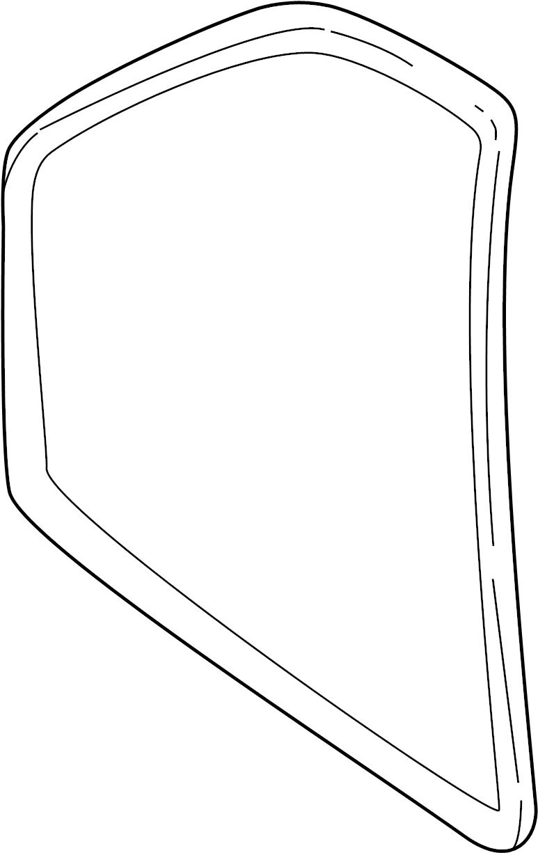 Pontiac Sunfire Door Seal (Front, Rear, Lower). SEDAN