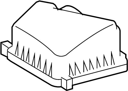 Pontiac Vibe Air Filter Housing (Upper). 2.4 LITER