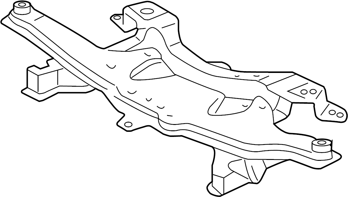 Pontiac Vibe Engine Cradle. AWD. Vibe; w/AWD. W/AWD
