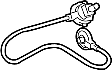 Pontiac Vibe Cable. Control. HVAC. Blower. Heater