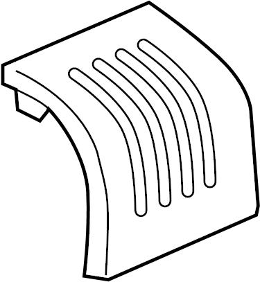 Pontiac G5 Fuse Box Cover. 2.2 LITER, 2007-10. 2.4 LITER