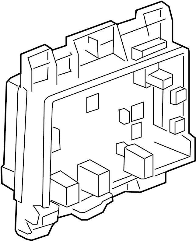 Pontiac G6 Junction Block. PASSENGER COMPARTMENT