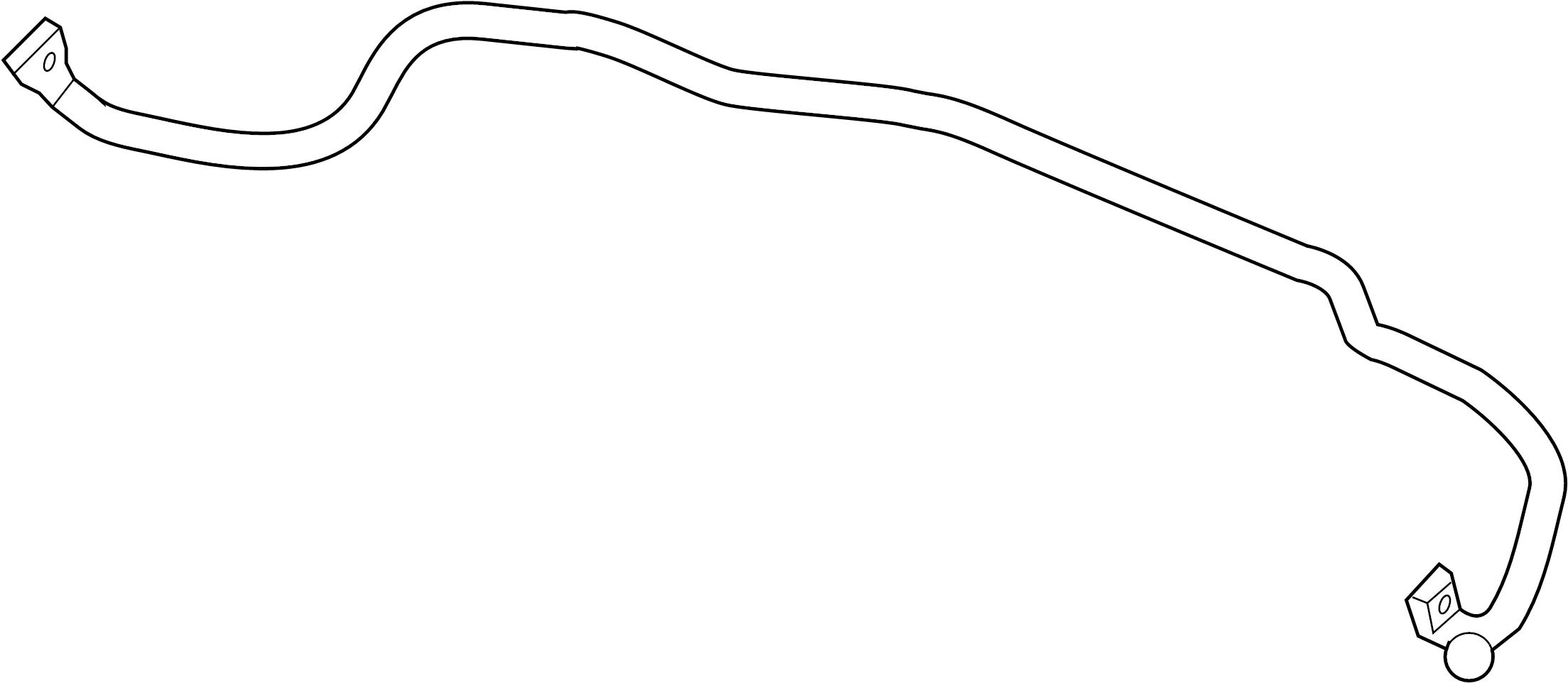 Pontiac G6 Suspension Stabilizer Bar Front Convertible
