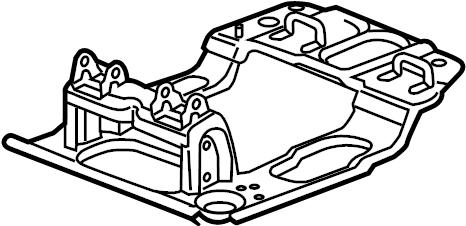 Cadillac Escalade Folding Seat Latch. SIDE, POWER, BUCKET