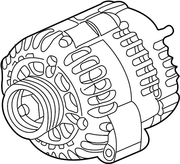 GMC Savana 3500 Alternator. Battery, LITER, Replaced