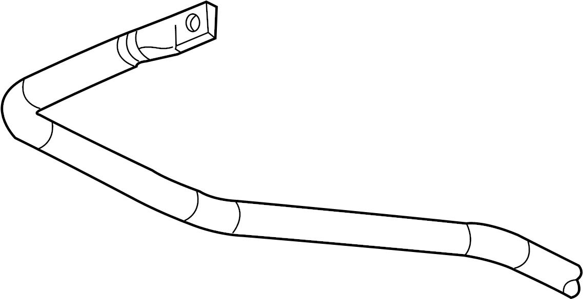 GMC Yukon Suspension Stabilizer Bar. Rear, Premium, SERIES