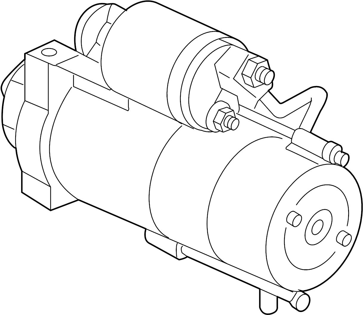 Gmc Savana Starter Motor Liter