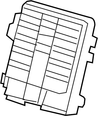 Cadillac Escalade ESV Fuse Box. Junction block. A