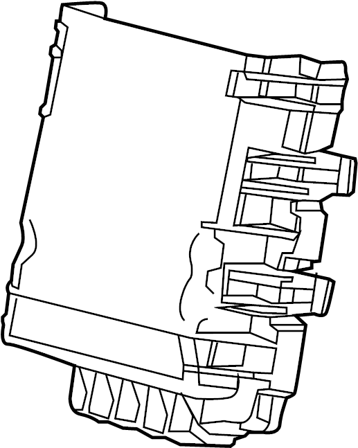 Cadillac Escalade Junction Block Cover. INSTRUMENT PANEL