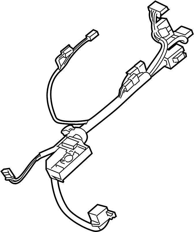 Chevrolet Tahoe Steering Column Wiring Harness. W/POWER