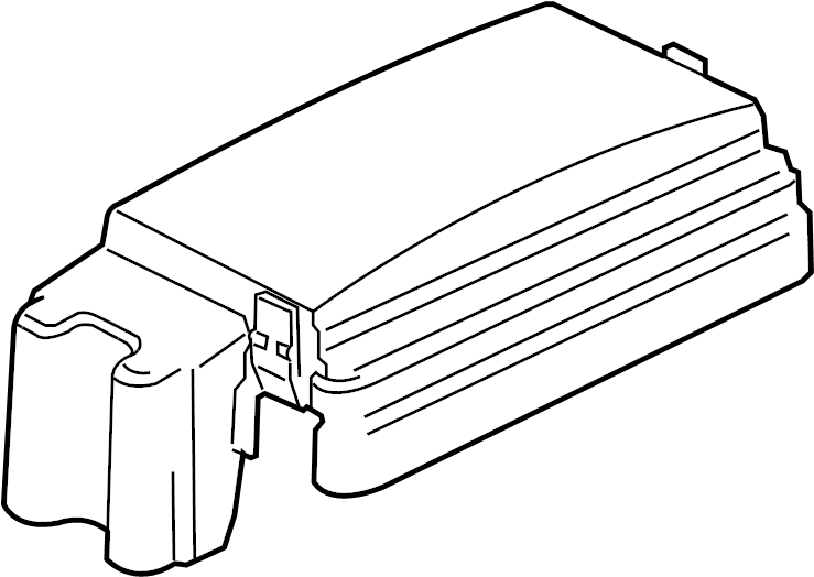 GMC Canyon Fuse Box Cover (Upper). JUNCTION BLOCK
