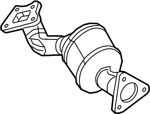 GMC Canyon Catalytic Converter. Converter. Catalytic. And