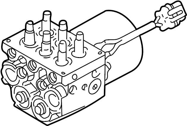 GMC Sonoma Valve. Modulator. ABS. 2002-2005. A valve for