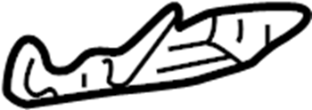 GMC Sonoma Glove Box Latch. 1998-04 PANEL & COMPONENTS