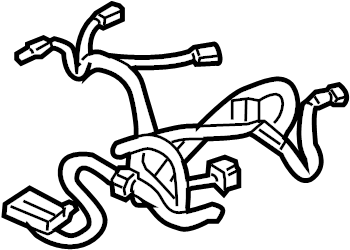 Cadillac Escalade Power Seat Wiring Harness. W/O HEATED