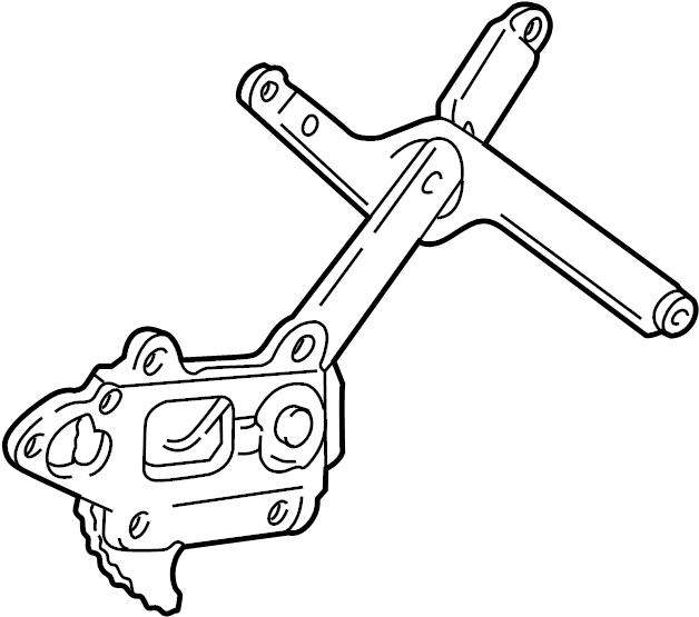 Chevrolet Blazer Window Regulator. Make, Right, Manual