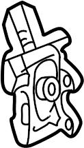 Chevrolet K1500 Suburban Case. Control module. Lock