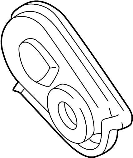Chevrolet Astro Engine Timing Cover (Front). 2.2 & 2.5