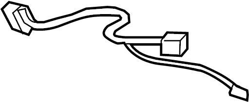 GMC Sierra 1500 Sunroof Wiring Harness. EXTENDED CAB
