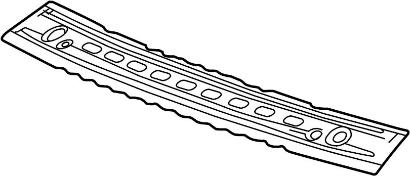 Chevrolet Silverado 2500 HD Roof Header Panel (Right