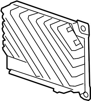 Chevrolet Silverado 1500 Radio Amplifier. RADIO, CODE: IO3