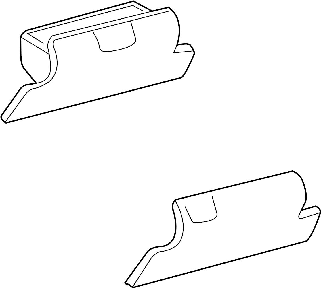 GMC K1500 Suburban Glove Box. 1992-96. 1995-00, 1997-00