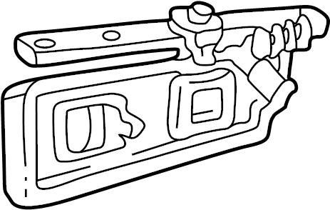 GMC K1500 Suburban Seat Track. BENCH, Inner, BUCKET