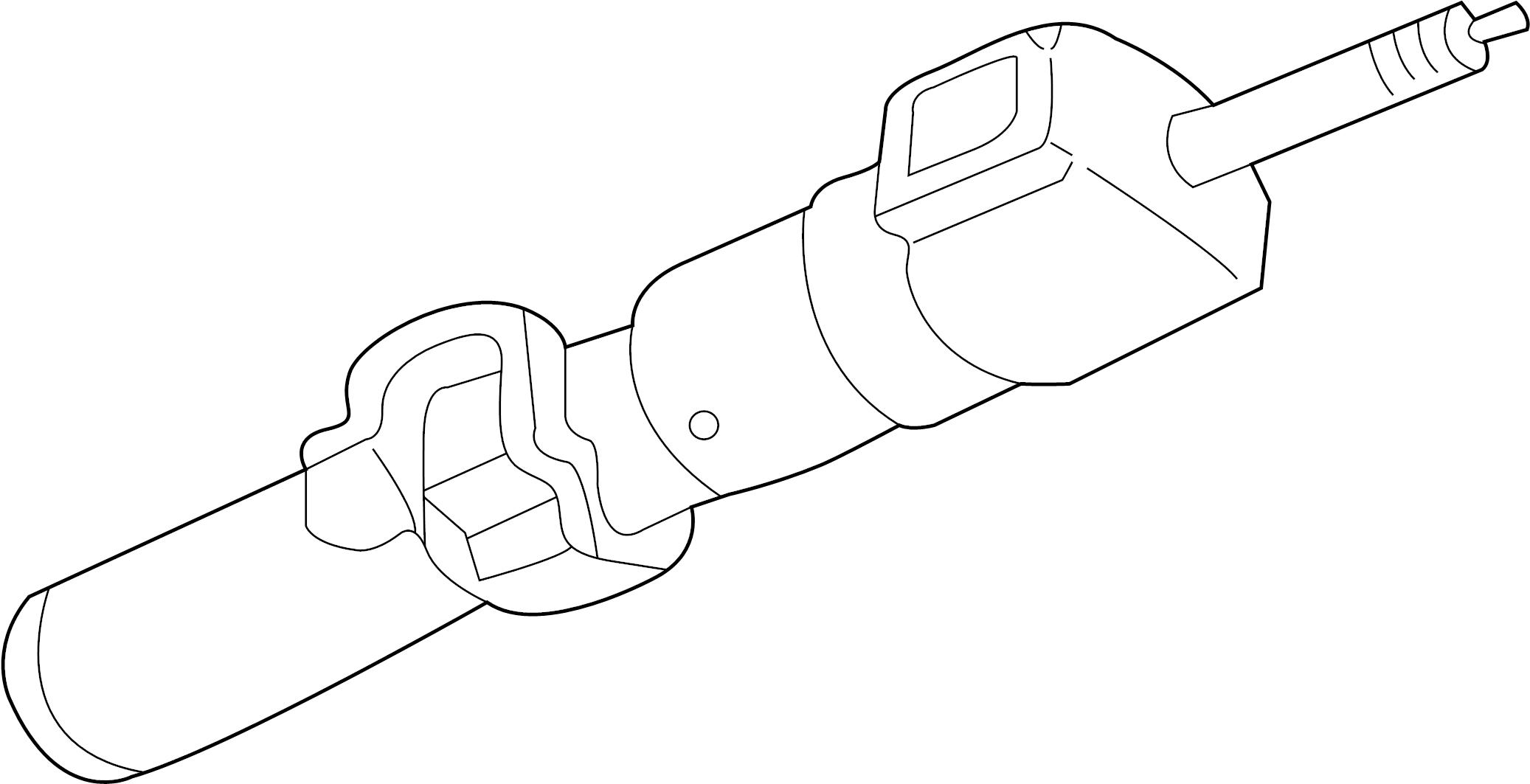 Chevrolet K1500 Suburban Steering Column. Tilt, WHEEL, Bag