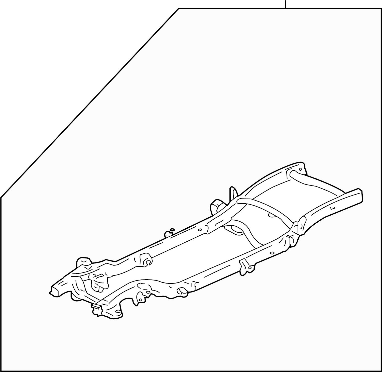 Chevrolet Silverado 1500 Frame Rail (Front). 2WD, 8 foot