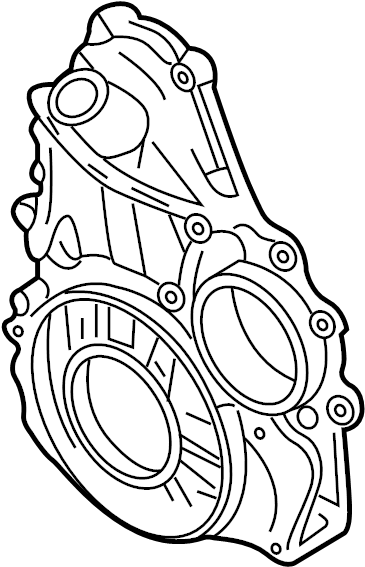 GMC Sierra 2500 HD Classic Engine Timing Cover (Front