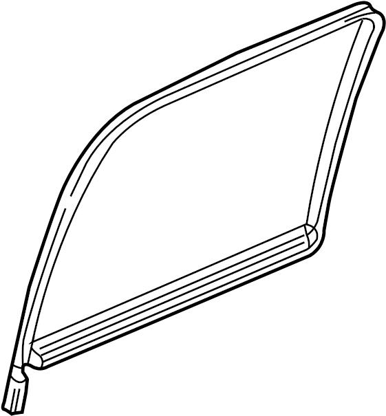 Chevrolet Suburban 1500 Glass. Crew cab. W'strip. Door