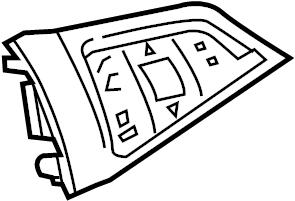 Chevrolet Sonic Steering Wheel Radio Controls. W/O RS, w