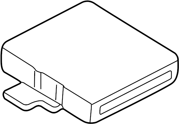 Chevrolet Tracker Engine Control Module. 2.0 LITER