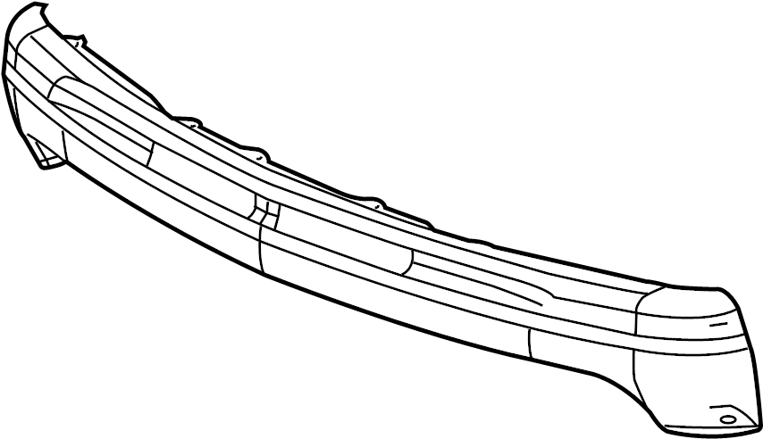 Cadillac Escalade EXT Bumper Impact Bar (Front, Lower
