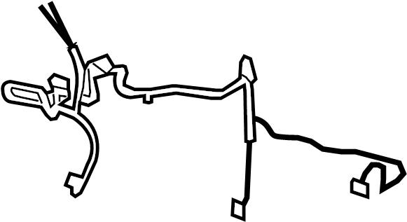 Cadillac Escalade ESV Hvac system wiring harness., w/o