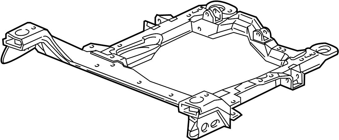 Pontiac Montana Engine Cradle. W/AWD. SUSPENSION
