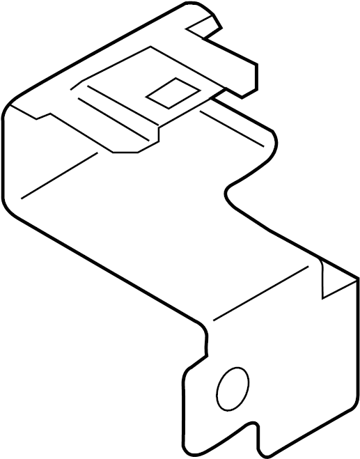 Chevrolet City Express Fuse and Relay Center Bracket