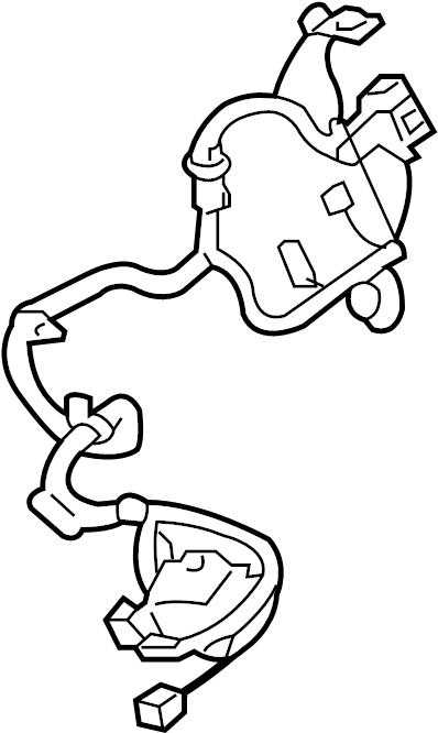 Buick Enclave Steering Column Wiring Harness. Wheel