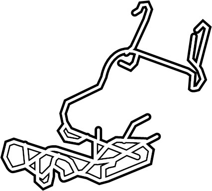 Buick Enclave Power Seat Wiring Harness. Left, WAY
