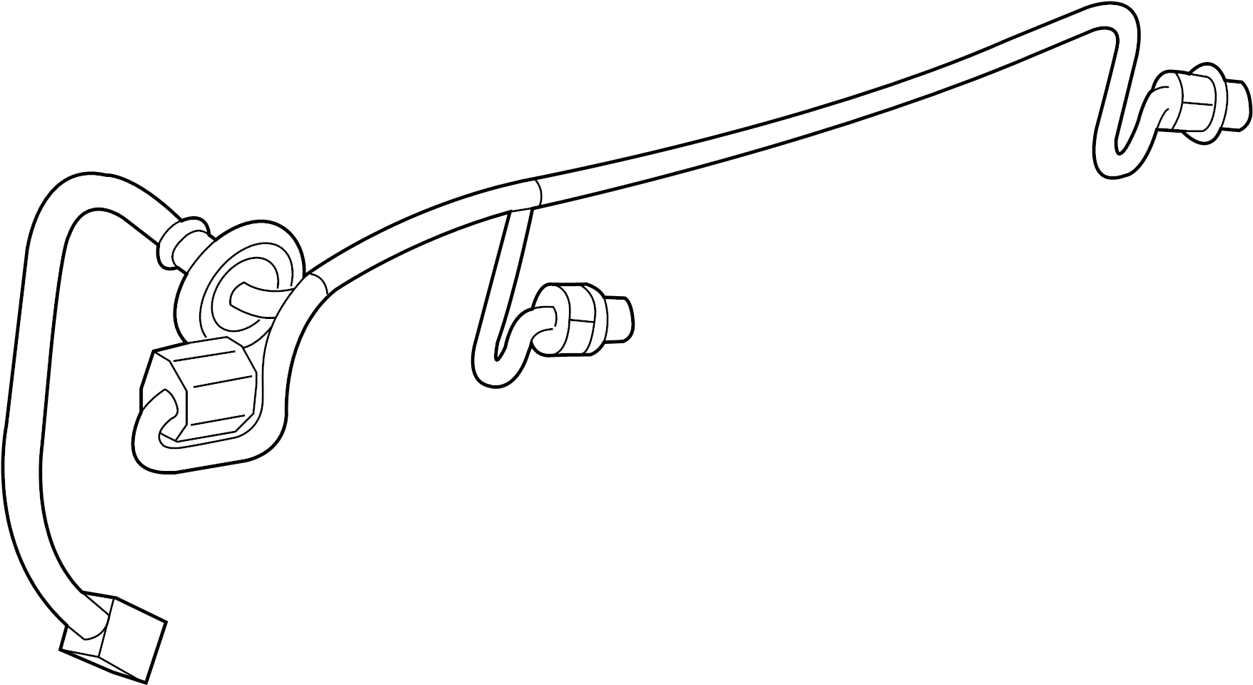 Chevrolet Traverse Wiring Harness Connector Rear