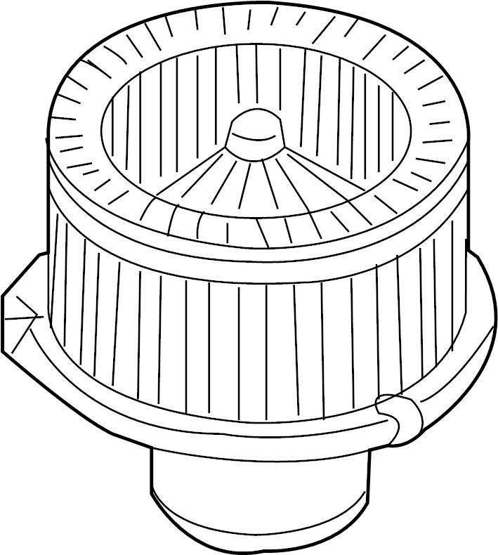 Chevrolet Trailblazer EXT Motor. Blower. 4.2 LITER. 5.3