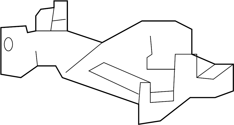 Chevrolet Suburban 2500 Bracket. Module. Control. COMN