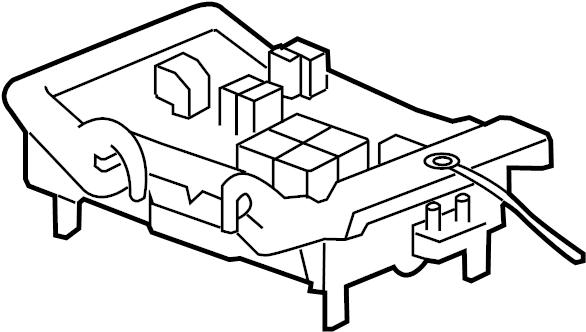 Chevrolet Silverado 1500 Junction Block. ENGINE