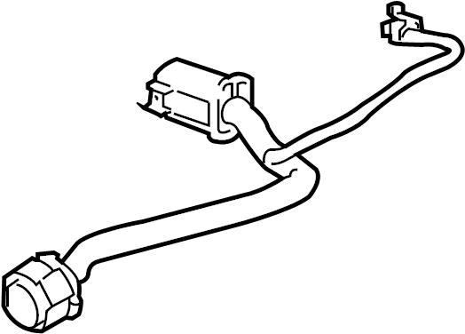 GMC Sierra 3500 HD Parking Aid System Speaker Connector