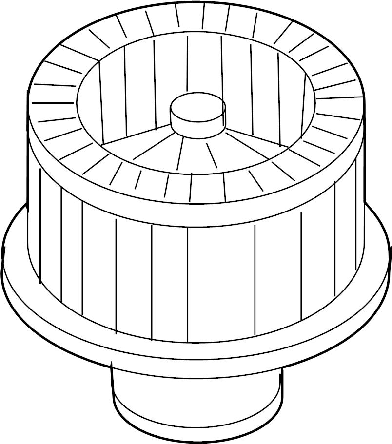 Chevrolet Colorado Motor. Blower. HVAC. For A/C Belt. Incl