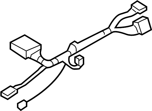GMC Envoy XL Steering Column Wiring Harness. W/o