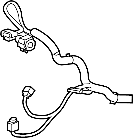 Chevrolet Equinox Headlight Wiring Harness. 2.4 liter, w/o