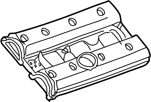 Cadillac Catera Engine Valve Cover. 3.0 LITER. 3.2 LITER
