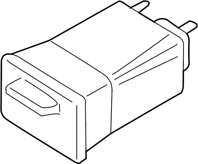 Chevrolet Trailblazer Vapor Canister. CANISTER ASSEMBLY