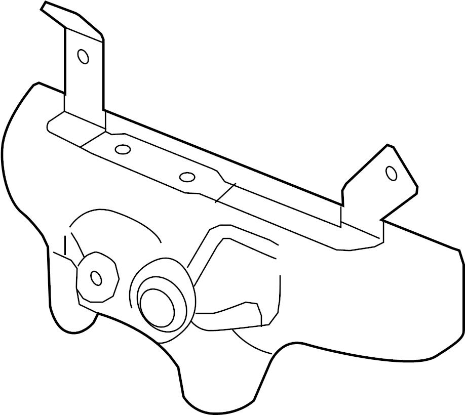 Pontiac Solstice Shield. Heat. Exhaust. Manifold. (Upper